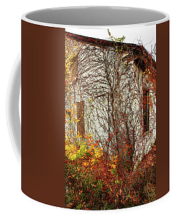 Coffee Mug featuring the photograph Somewhere In Rhode Island - Abandoned Mill 002 by Lon Casler Bixby