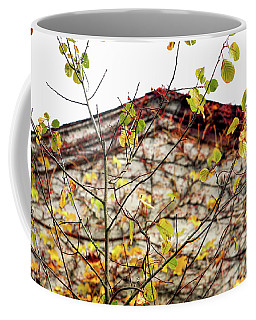 Coffee Mug featuring the photograph Somewhere In Rhode Island - Abandoned Mill 003 by Lon Casler Bixby
