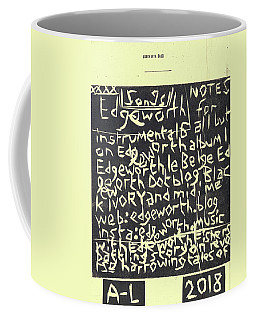 Song Notes Title Page A-l Coffee Mug