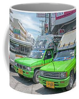 Coffee Mug featuring the photograph Songthaew Taxi by Antony McAulay