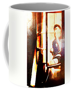 Songwriter At The Window Coffee Mug