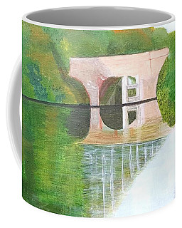 Sonning Bridge In Autumn Coffee Mug