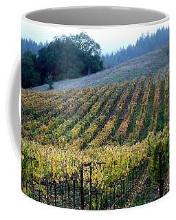 Sonoma County Vineyards Near Healdsburg Coffee Mug