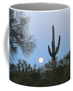 Sonoran Desert Moonset Coffee Mug