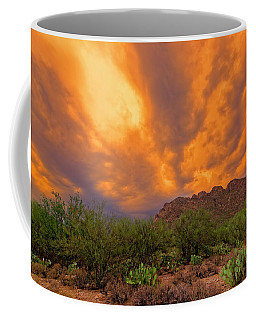 Coffee Mug featuring the photograph Sonoran Sonata H16 by Mark Myhaver