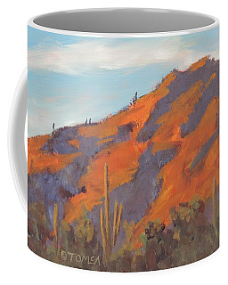 Sonoran Sunset - Art By Bill Tomsa Coffee Mug