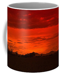 Sonoran  Sunset Coffee Mug by Sheila Ping