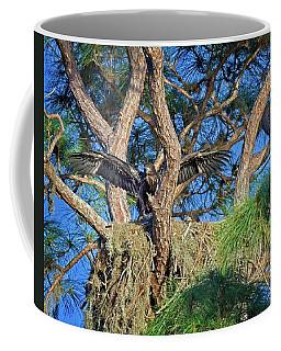 Soon To Fly Coffee Mug by Ronald Lutz