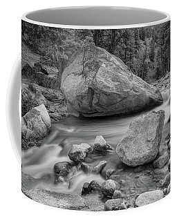 Soothing Colorado Monochrome Wilderness Coffee Mug by James BO Insogna