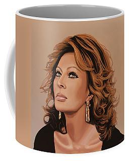 Sophia Loren 3 Coffee Mug by Paul Meijering