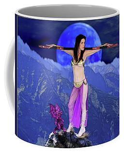 Sorceress And Her Familar Coffee Mug
