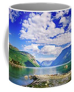 Soreimsfjorden Coffee Mug