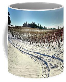 Soter Vineyard Winter Coffee Mug