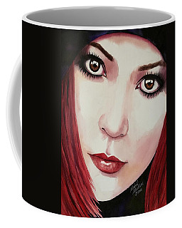 Coffee Mug featuring the painting Soul Sister by Michal Madison