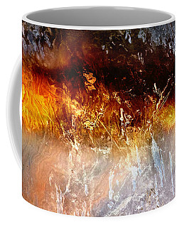 Coffee Mug featuring the painting Soul Wave - Abstract Art by Jaison Cianelli
