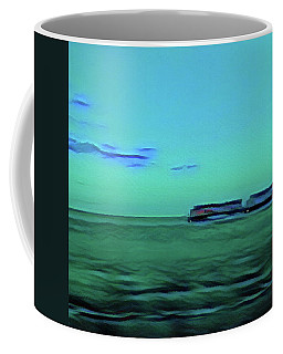 Sound Of A Train In The Distance Coffee Mug