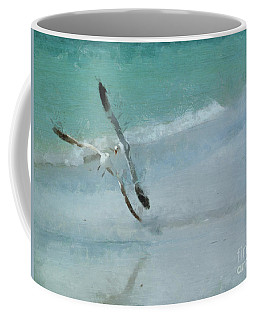Coffee Mug featuring the photograph Sound Of Seagulls by Claire Bull