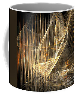 Sound Waves In 3d Coffee Mug