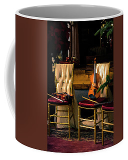 Coffee Mug featuring the photograph Sounds Of Silence by John Rivera