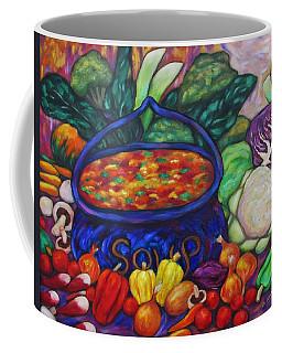 Soup In A Blue Pot Coffee Mug