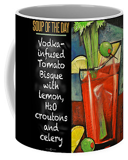 Soup Of The Day Tomato Bisque Poster Coffee Mug