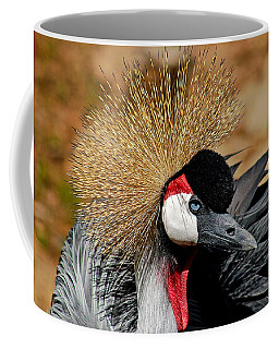 South African Crowned Crane Coffee Mug