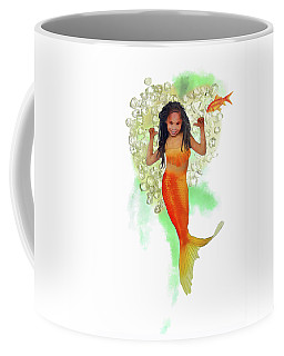 South African Mermaid Coffee Mug
