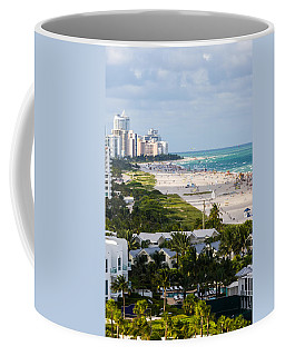 South Beach Late Afternoon Coffee Mug