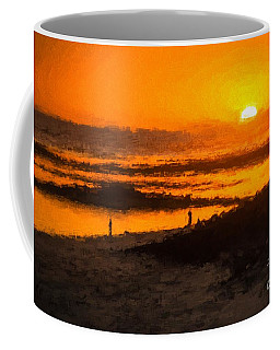 South Beach Sunset    Rvr Coffee Mug