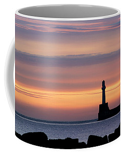 South Breakwater At Dawn - 2 Coffee Mug