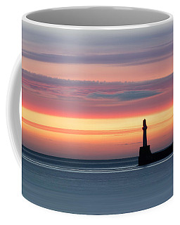 South Breakwater At Dawn Coffee Mug