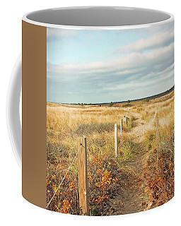 South Cape Beach Trail Coffee Mug by Brooke T Ryan