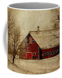 South Dakota Barn Coffee Mug