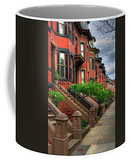 South End Row Houses - Boston Coffee Mug