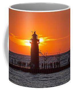 South Haven Michigan Sunset Coffee Mug