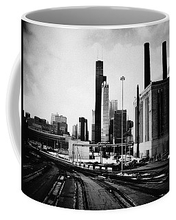 South Loop Railroad Yard Coffee Mug