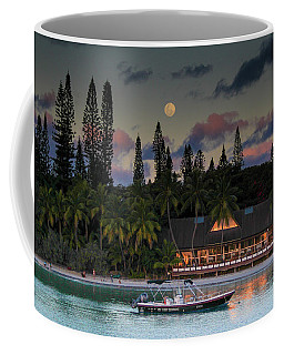 South Pacific Moonrise Coffee Mug