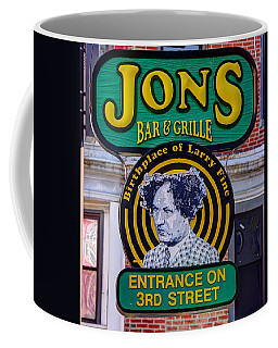 South Philly Skyline - Birthplace Of Larry Fine Near Jon's Bar And Grille-a - Third And South Street Coffee Mug