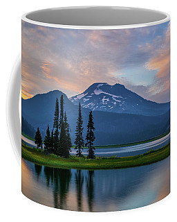 South Sister Glow Coffee Mug