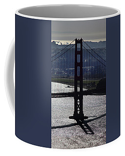 South Tower Of The Golden Gate Bridge, San Francisco, California Coffee Mug