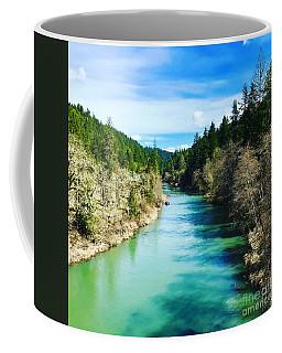 South Umpqua River Oregon  Coffee Mug