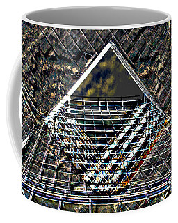 Southbank London Abstract Coffee Mug