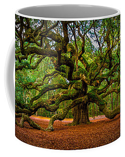 Angel Oak In Charleston Coffee Mug
