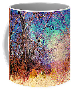 Coffee Mug featuring the photograph Southern Winter by Shirley Moravec