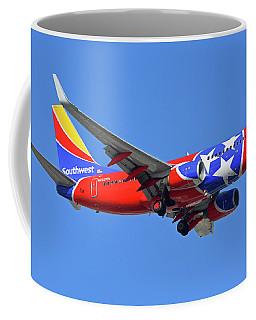 Southwest 737-7h4 N922wn Tennessee One Phoenix Sky Harbor November 28 2017 Coffee Mug