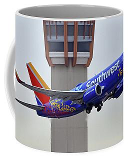 Southwest 737-7l9 N7816b Coco Phoenix Sky Harbor November 30 2017 Coffee Mug