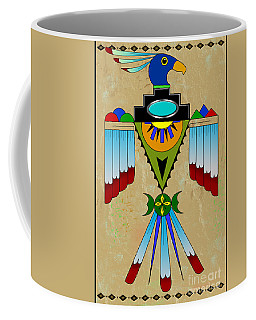 Southwest Bird Symbol Coffee Mug