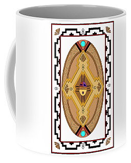 Southwest Collection - Oval Design Coffee Mug