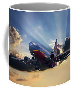 Southwest Dramatic Rays Of Light Coffee Mug
