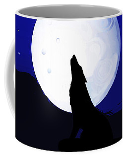 Southwest Howlin' Coyote Coffee Mug